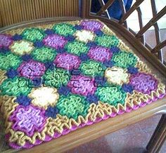 Rugs oriental: crochet tutorial