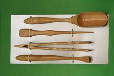 Bamboo Tea Scoop Set