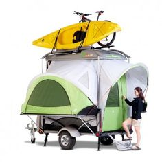 SylvanSport GO - Mobile Adventure Gear Camping Trailer...love it minus the price tag