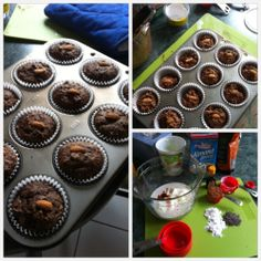 Live to eat (Healthy Chocolate Cupcakes!)