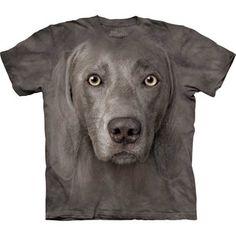Weimaraner Face T-Shirt XXXL now featured on Fab.