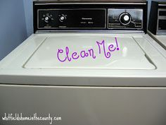 How To Clean & Sanitize Your Washing Machine