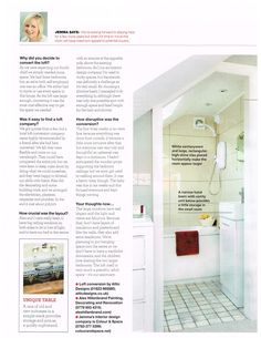Recent feature of one of our conversions in a UK home style magazine; Left 1  http://www.atticdesigns.co.uk/
