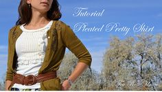 Tutorial/ Pleated Pretty Shirt with Buttons