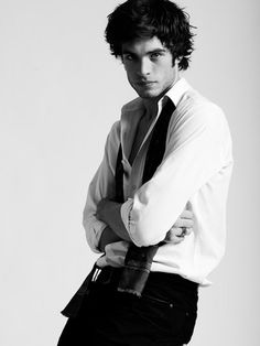 male model Gaspard Menier