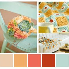 Gorgeous colour combos created from my favourite pins