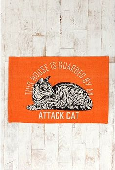 haha.. attack cat rug $19