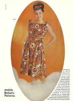 Love the whole look! #vintage #1960s #fashion #hair #dresses