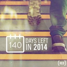 There are 140 days left in #2014. How will you use them for good? #fightAIDS #buyRED