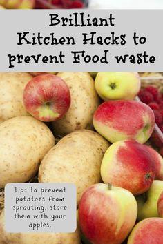 11 Brilliant Kitchen Hacks to Reduce Waste