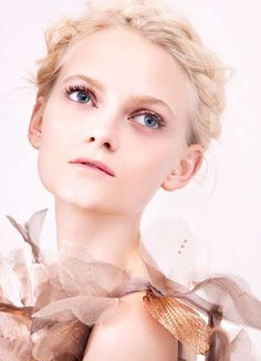 The Felix Lammers for Quality Magazine Shoot is Soft and Sweet #hair trendhunter.com