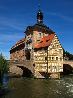 Vieille ville de Bamberg, Bavière  © Wikimedia Commons