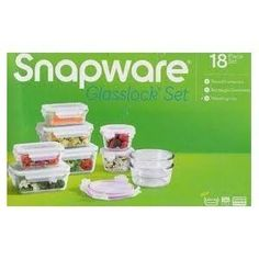 Snapware Glasslock Glass Storage Containers