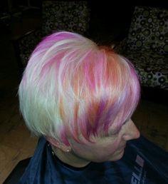 Rainbow sherbert blonde Elumen