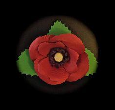 Giant Poppy from Cricut Giant Flowers Cartridge