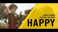 "Pharrell Williams single ""Happy"" is so infectious that Geneva London cannot help but dance every time she hears it. We thought it would be fun to go to a place where our 4 year old daughter had lots of space, pressed play and filmed her going crazy to this song! Inspired by International Day of Happiness #Happyday #GetHappy #HappyDance #Happysong"