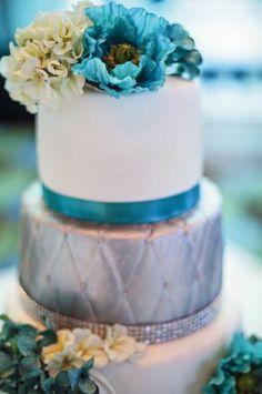 Popular Wedding Colors: Blue (35 percent), Purple (26 percent), Pink (25 percent), Metallics (25 percent) Photo: Jihan Abdalla, Blend Images...