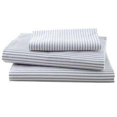 #NodWishlistSweeps grey thin stripe sheets