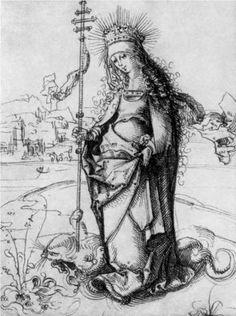 St. Margaret - Albrecht Dürer