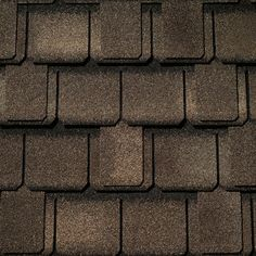 Weathered Wood #gaf #designer #roof #shingles #swatch