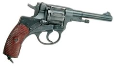 The Nagant M1895 revolver... a surplus revolver given very little regard, but really a great little weapon that has a very interesting history. Usually will date from early 1900 - 1943.    I really enjoy my Nagants.