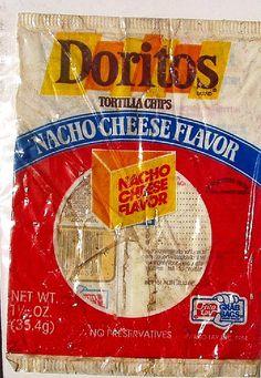 1980s Doritos bag