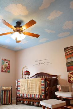 """HP themed nursery: """"We Have a Wizard in the Family!"""""""