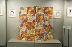 Japanese Robe Exhibit - see this hand beaded Kimono at this year's show. It has 2.1 million Delicas in 226 colors!