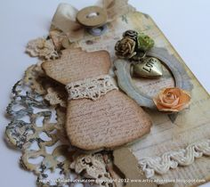 Design team member @Trisha Ladouceur shares a fun project and tutorial on our blog featuring a vintage feminine feel.  Check it out at http://sizzixblog.blogspot.com/2012/06/sewing-room-vintage-style-tag.html