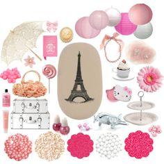Paris party moodboard