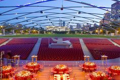 Millennium Park is one of the most unique wedding venues in Chicago.