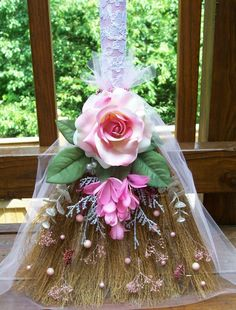 Jumping the Broom Ceremony - from Wedding by Color