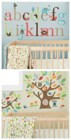 Great for a neutral baby room, since Jes and I don't find out the sex before the birth.