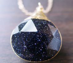 Midnight Star Necklace//