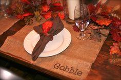 Thanksgiving Placemat DIY