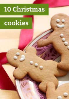 10 Christmas Cookies – There are lots of ways to make Christmas merry—and making edible homemade gifts of Christmas cookies is one of the sweetest!