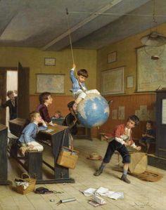 Le Tour Du Monde, Andre-Henri Dargelas. French (1828 - 1906)