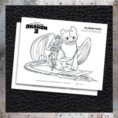 Download and print free #HTTYD2 coloring pages! http://www.howtotrainyourdragon.com/play/downloads