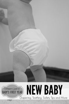 Ultimate Guide to Baby Care {The First Year}