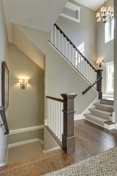 2013 Fall Parade of Homes - transitional - staircase - minneapolis - Highmark Builders