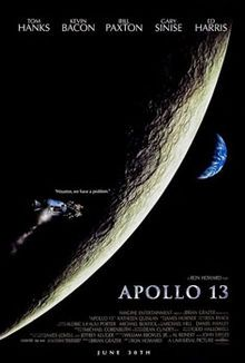 film, apollo13, apollo 13, 13 1995, movi poster, true stori, kevin bacon, tom hanks, favorit movi