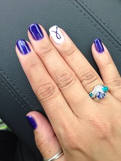 My CF nails. Someone I love has Cystic Fibrosis.
