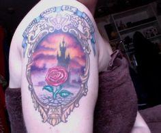 beauty and the beast tattoo -