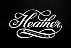 """Heather Script, by Michael S…"" in Typography"