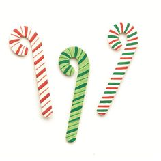Embellish Your Story Candy Cane Magnets - Set of 3 Assorted - $7.50