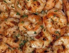 Ruth's Chris New Orleans Style BBQ Shrimp Replica Recipe - - having never had authentic NO's style bbq shrimp, I can't tell you if this is authentic or not, but it sure sounds yummy!