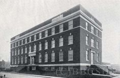 The New Nurses' Home at Mercy-Douglass Hospital School of Nursing. Image courtesy of @Bates History Center - Penn Nursing.