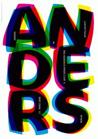 Flyer Goodness: Typographic Posters by Götz Gramlich
