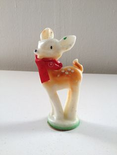Reindeer Candle by Gurley Novelty Co
