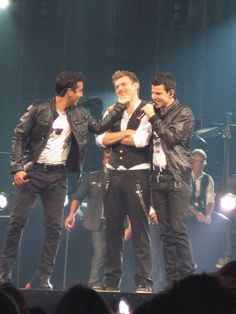 NKOTBSB, Nicky with Jon & Jordan Knight..